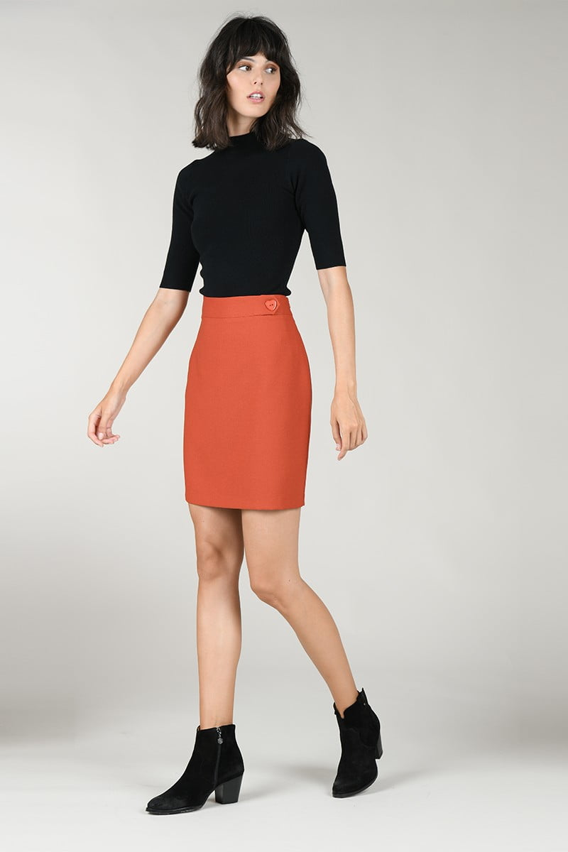 Knitted blouse bodycon