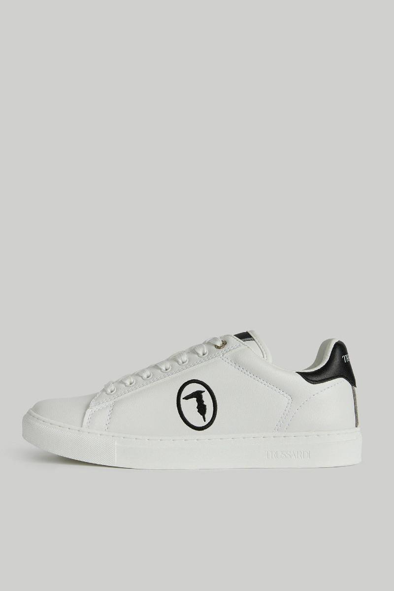 Faux leather Galium Pop sneakers TRUSSARDI JEANS 10 01 8051932907563 F