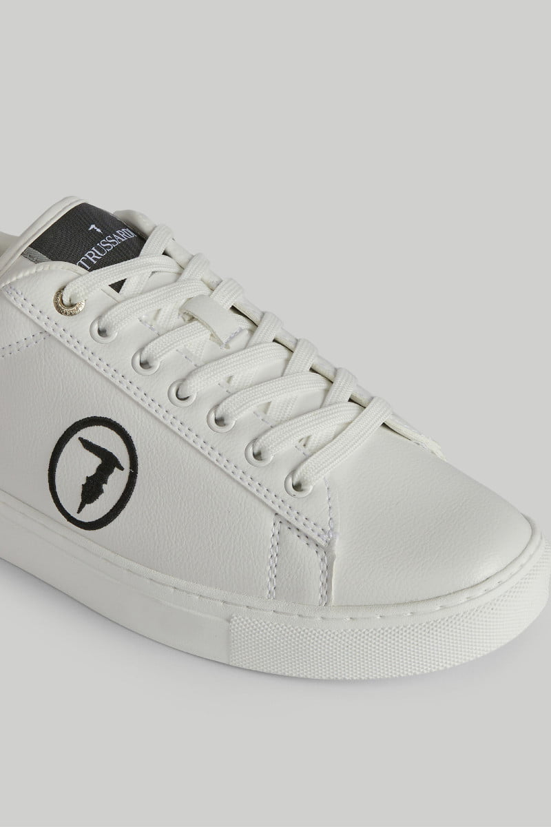 Faux leather Galium Pop sneakers TRUSSARDI JEANS 10 03 8051932907563 R