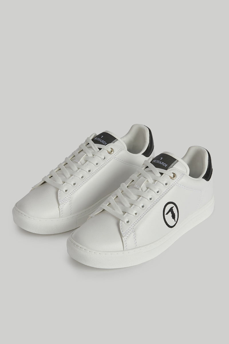 Faux leather Galium Pop sneakers TRUSSARDI JEANS 10 04 8051932907563 D