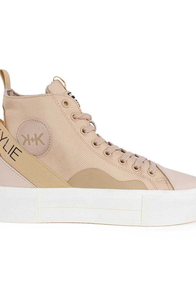 KENDALL AND KYLIE ΓΥΝΑΙΚΕΙΟ SNEAKERS , ECO LEATHER-ΥΦΑΣΜΑ ( TAMAR ),NUDE,Γυναίκα
