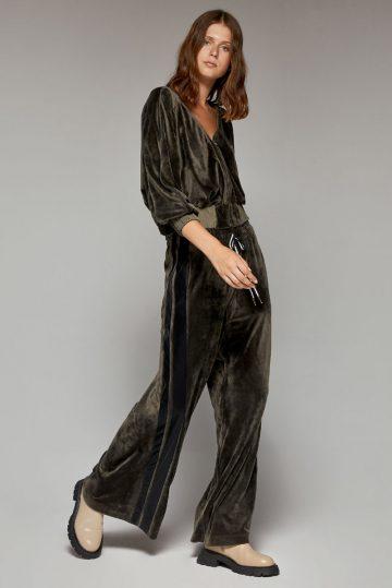 Παντελόνα βελούδο φάσα πλάι – W1-5059